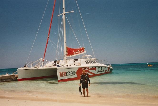 Montego Bay, Jamaica, Apr 2009 (PADI Scuba Diver)