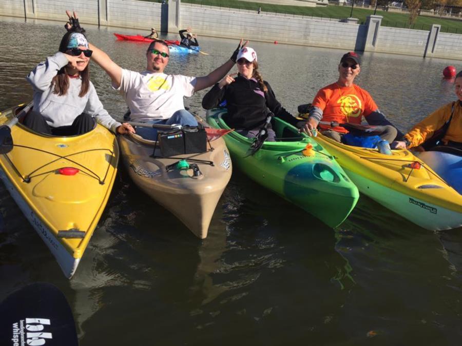 Kayaking Buddies