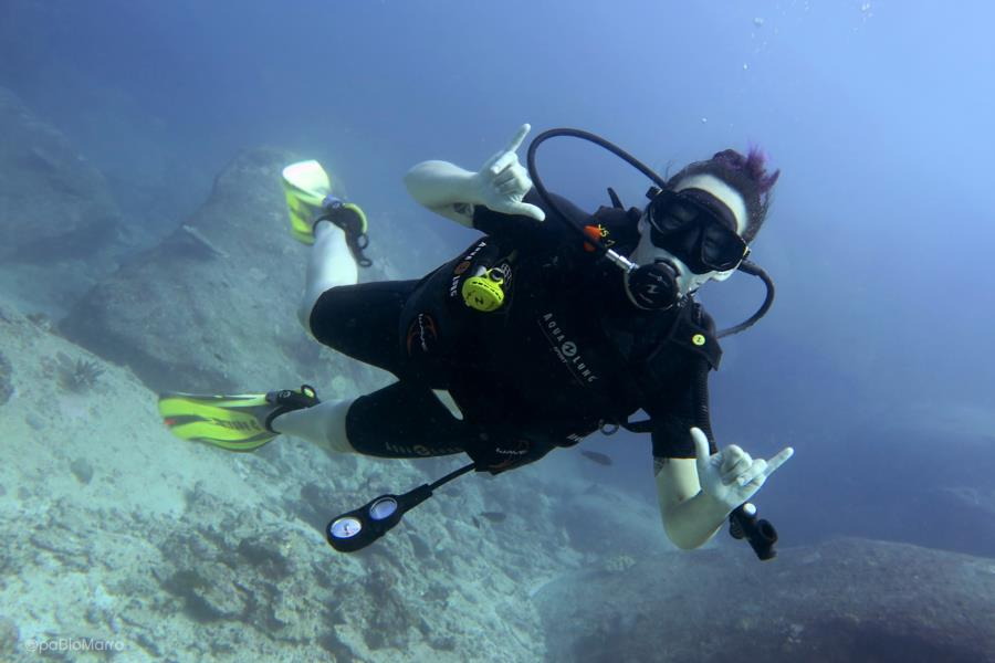 First Dive Andaman Sea