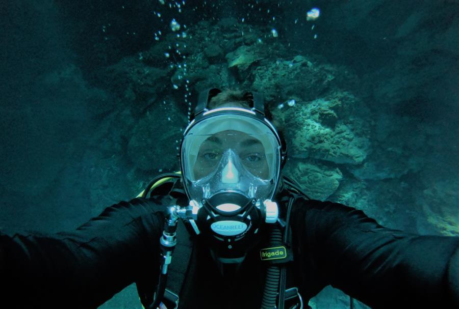 Cenote Selfie