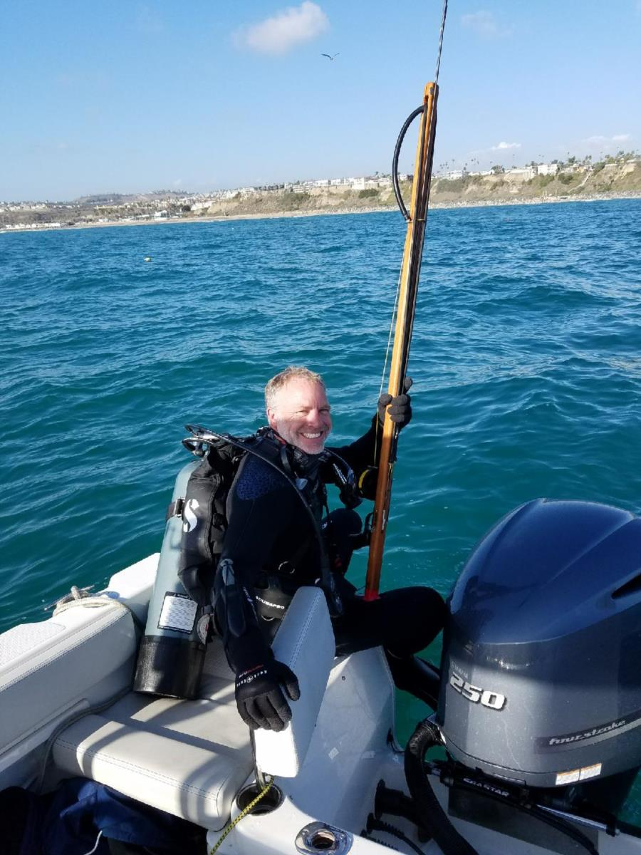 Spearfishing in San Clemente