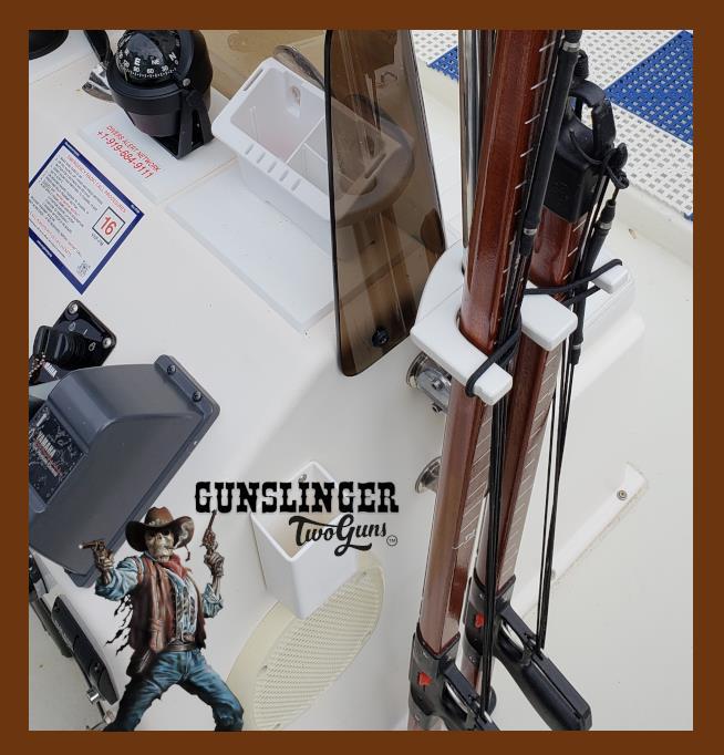 Gunslinger two Gun mount