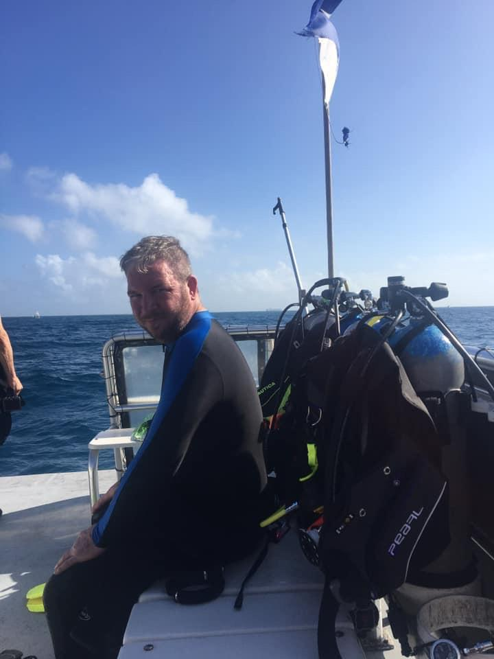 First dive