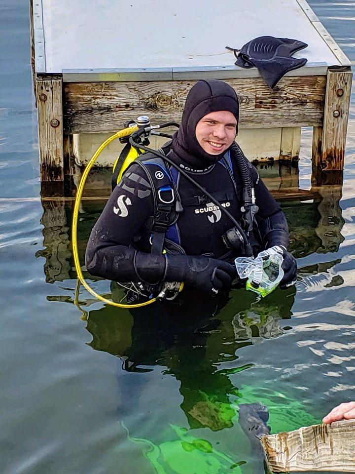 Open water Cert Dive