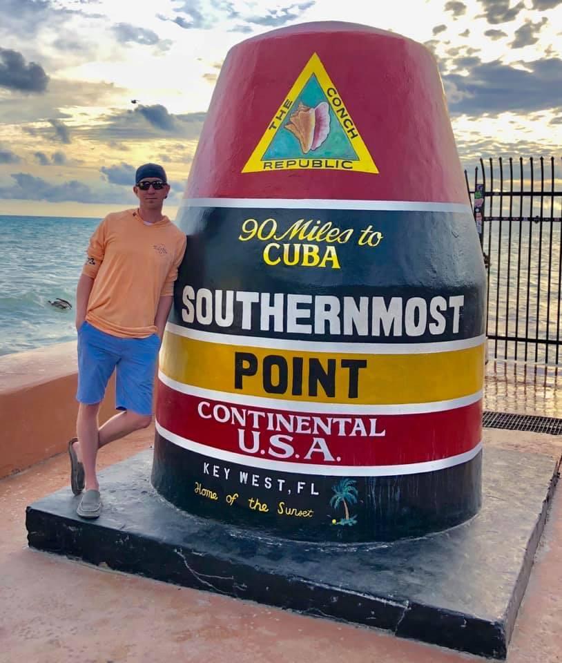 Southernmost photo op