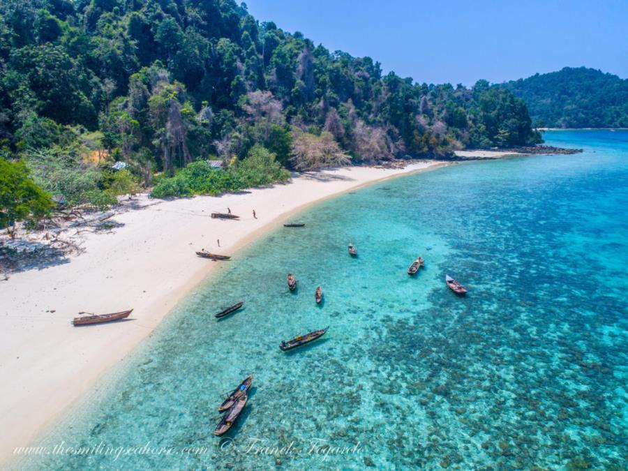 Myanmar coast