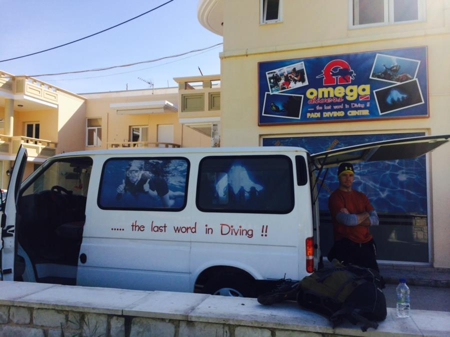 Omega Divers Crete Greece