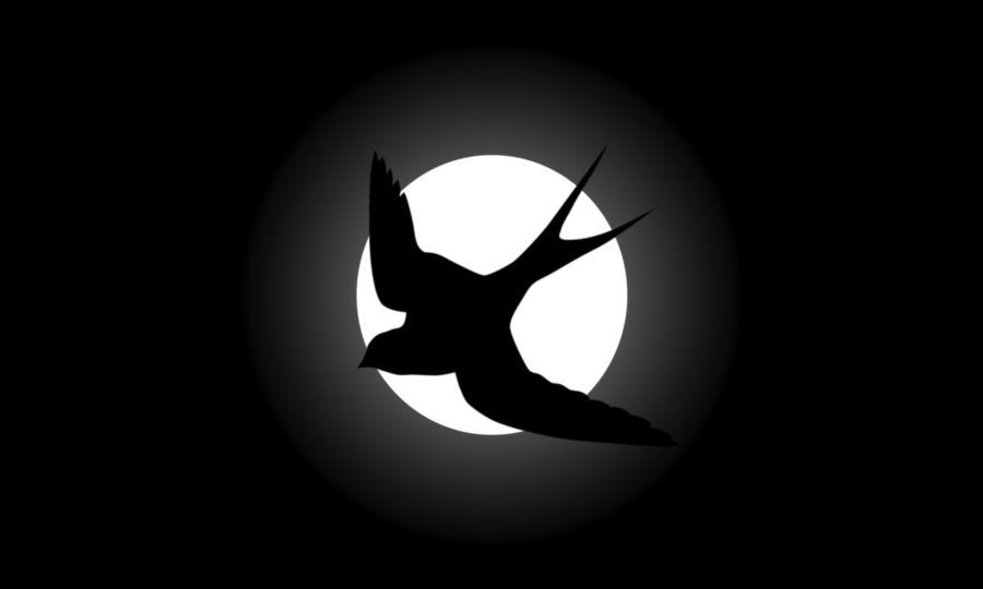 Black Swallow Flag