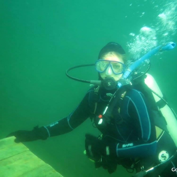 Diving Haigh Quarry