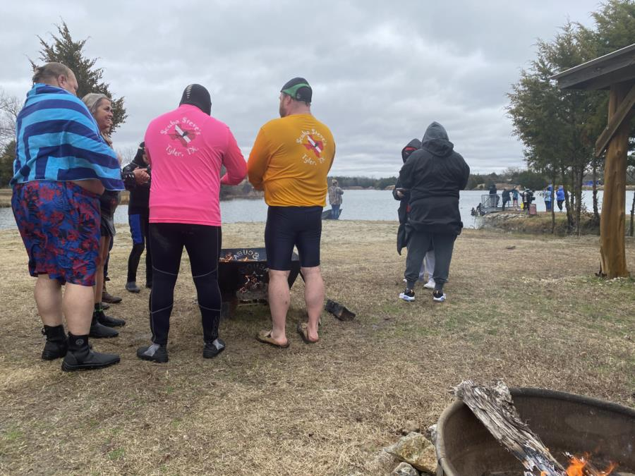 By the Fire #2 Polar Plunge