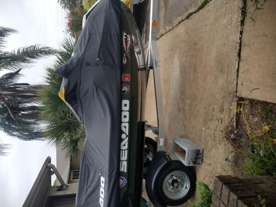 My new sea-doo Fish Pro