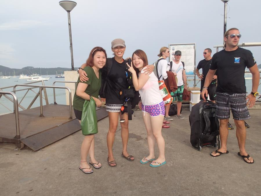 Scuba dive in Thailand