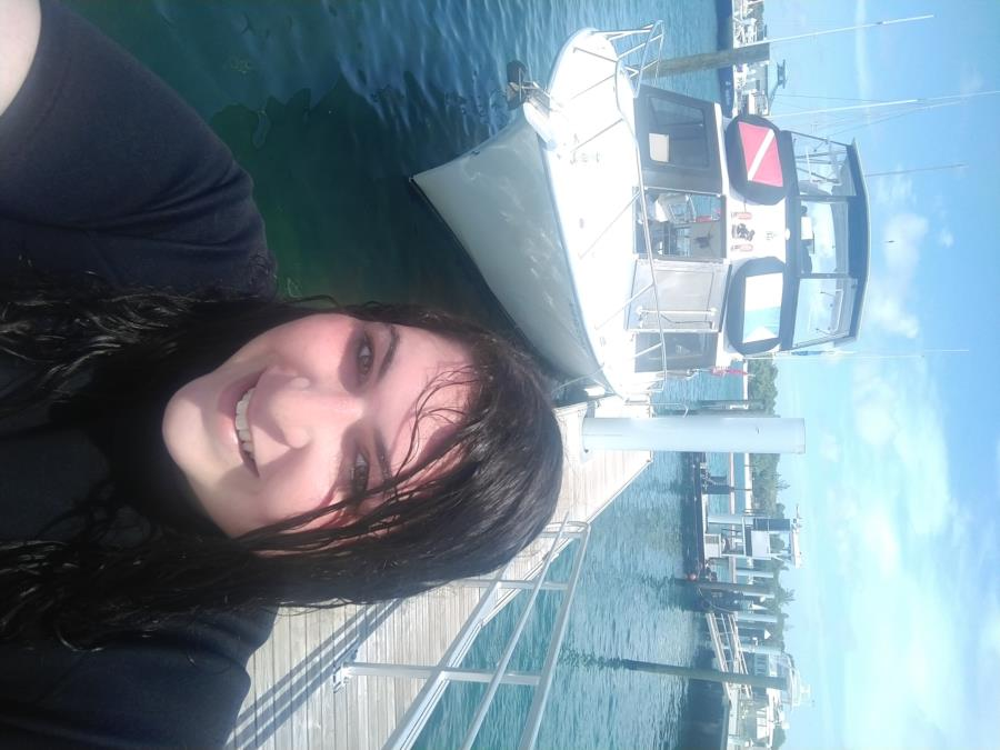 Just got done diving!