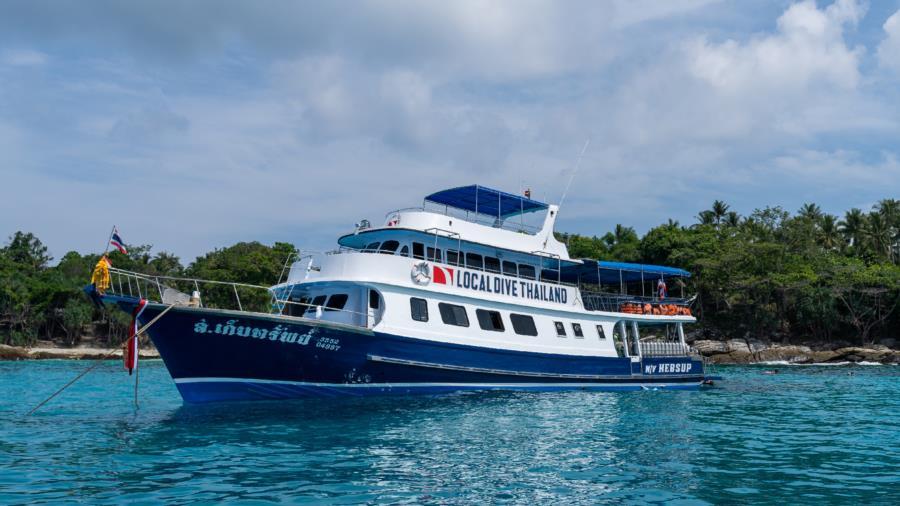 MV Kepsub, Phuket, Thailand, scuba diving tour boat