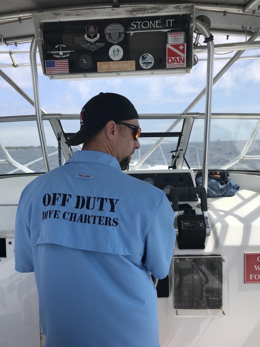 Capt Dan at work