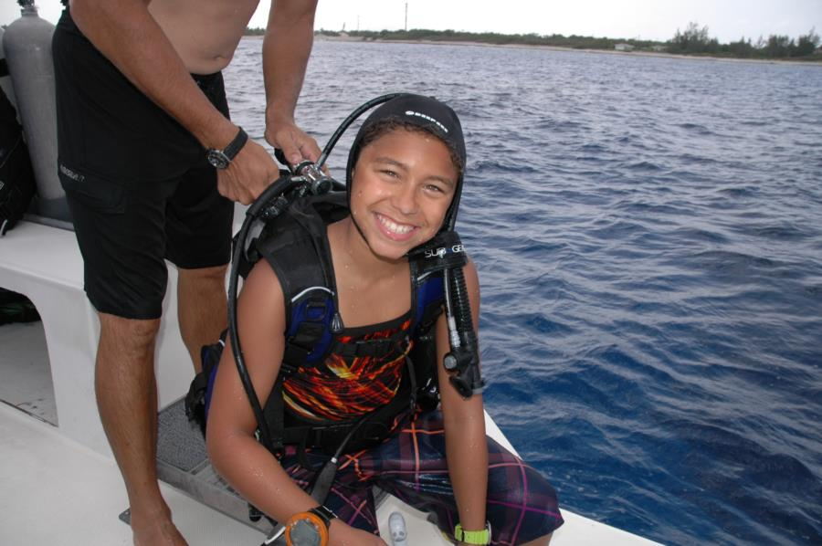 I've Got A New Dive Buddy - Cayman Brac - Jul 2014