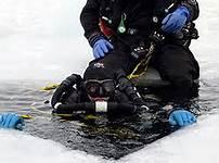Friends share stories of diving beneath the ice