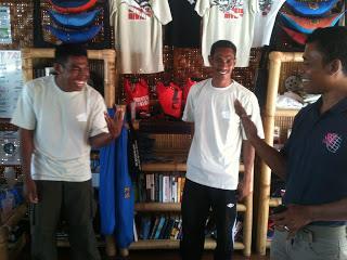 Interns at Wicked Diving Komodo - 2013