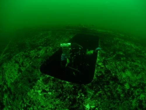 Wreck of the ferry M/F