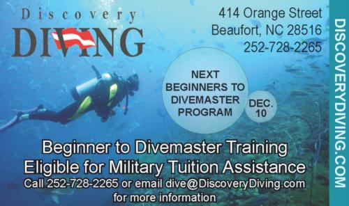 TA & VA Beginner to Instructor Dive Programs now under way