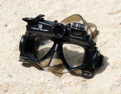 Cool New Scuba Gear: Scuba Series HD 720p (a camera mask)