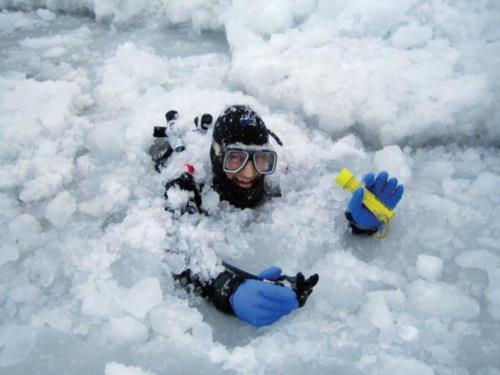 You Know its Too Cold to Scuba Dive When...