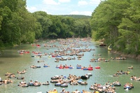 Oct 6th, 2007, Trash Fest, Comal River, TX