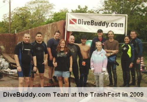 TrashFest 2010 Comal River, New Braunfels, TX