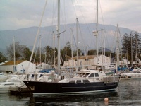 $350,000 sailboat to live on for 10 years