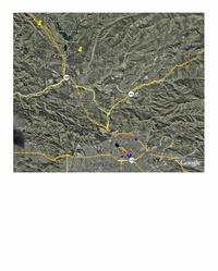 MAP of CASTAIC LAKE