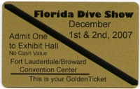 FreeTix Ft Lauder Dive Show 12/1-12/2  (exp 10/15)