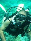 diving in Indian Ocean