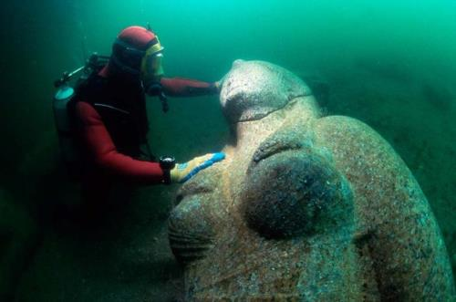 Lost Egyptian City Found Underwater After 1,200 Years