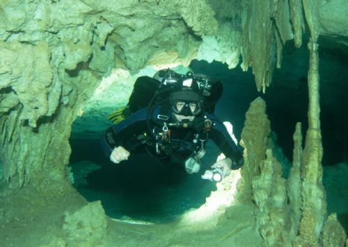 Full Cave in the Riviera Maya