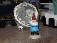THE GNOME IS RESTLESS !!!!!