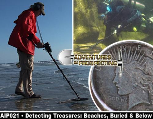 Detecting Treasures: Beaches, Buried & Below