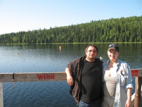 Twin lakes Alberta