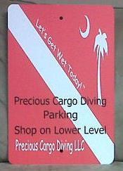 Precious Cargo Diving Directions