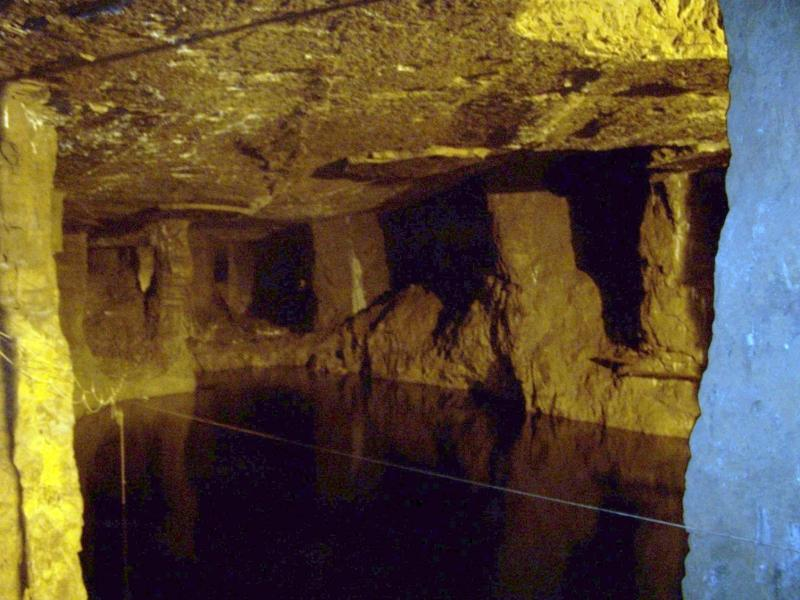 Bonne Terre Mine - View of mine and water