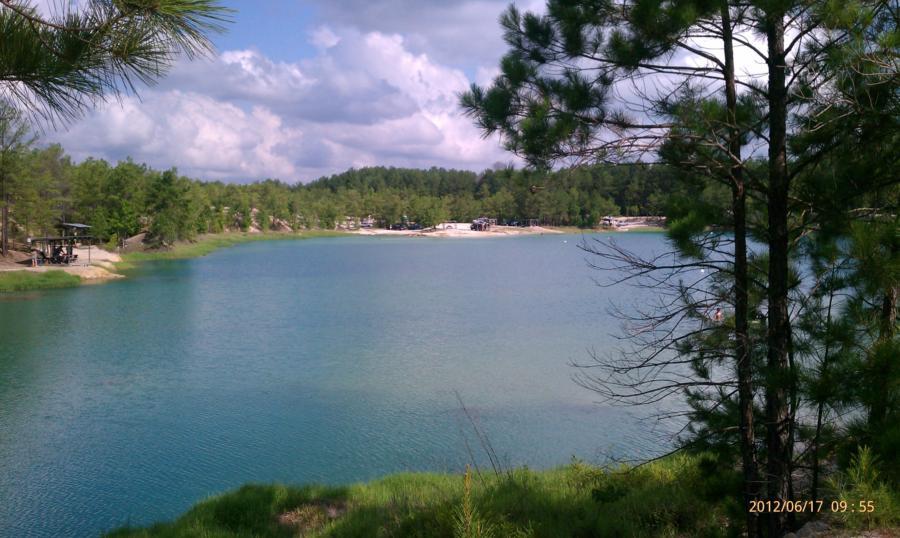 Blue Lagoon - View