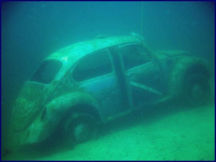 Fantasy Lake Scuba Park Vw Bug Underwater
