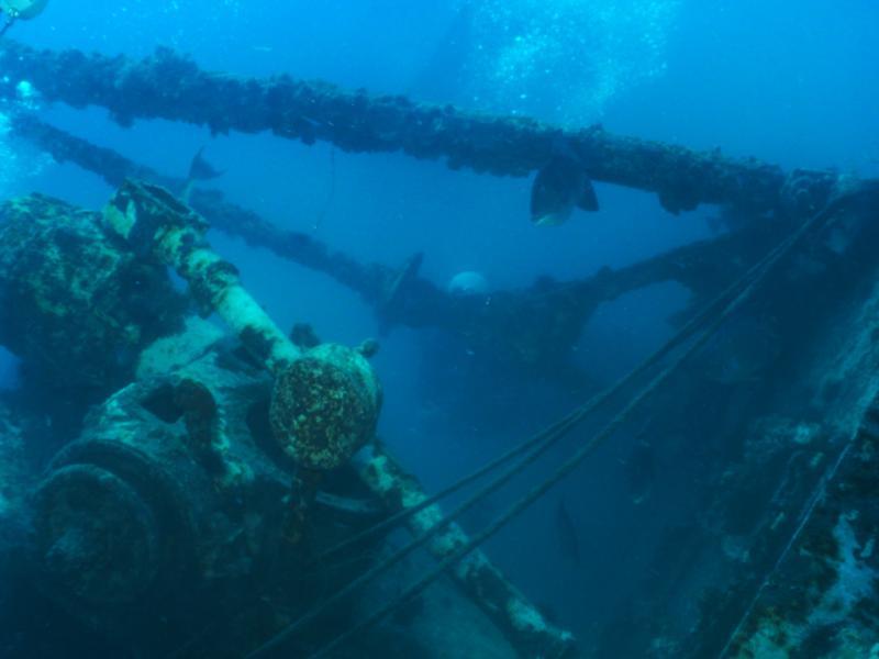 Texas Clipper - Into the Wreck
