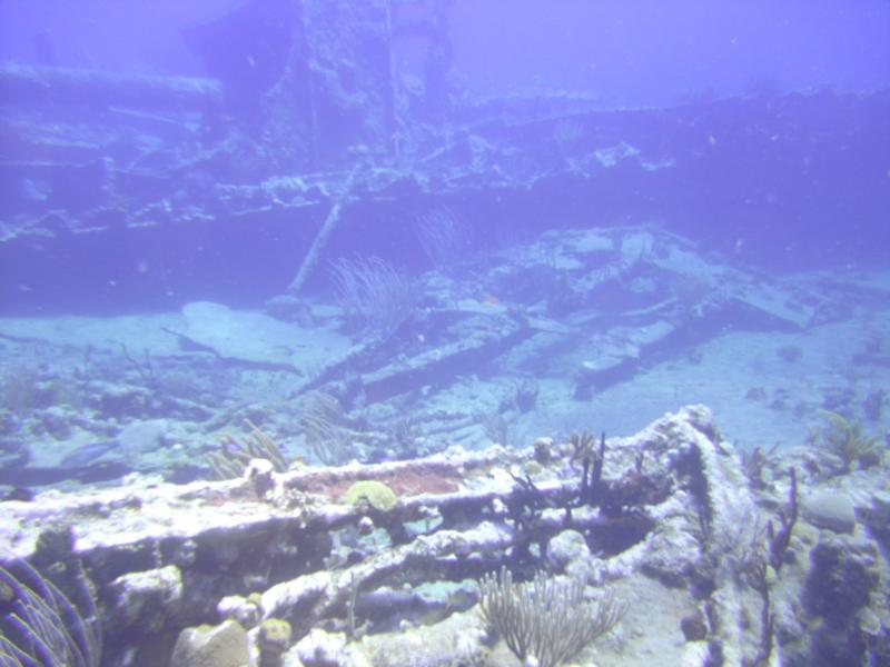 RMS Rhone wreck - Wreck of the Rhone