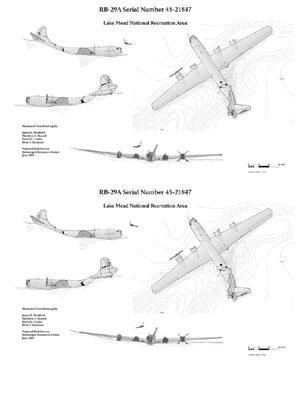 B-29 - Lake Mead - Site plan