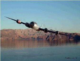 B-29 - Lake Mead - In better days.