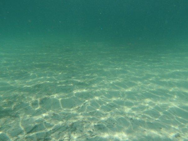 Hathaways Pond - All sand up to teaching platform