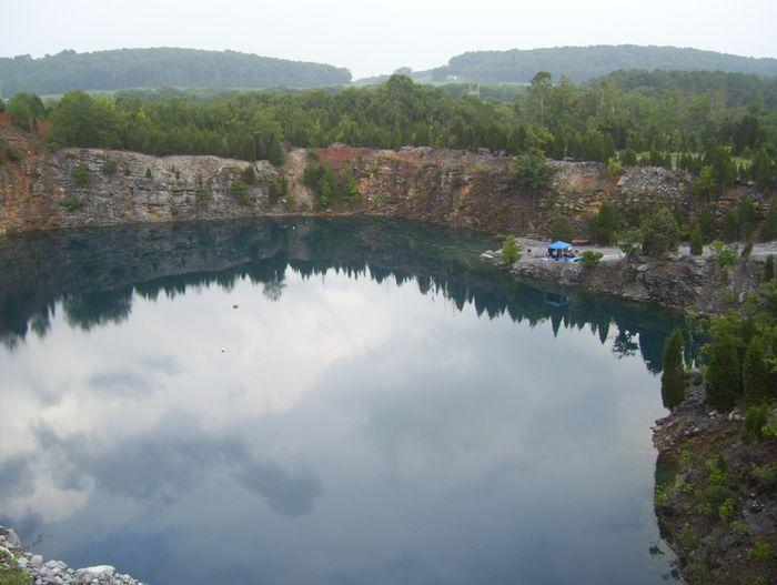 Philadelphia Quarry - Surface view of water