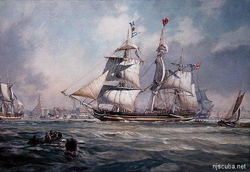 Amity aka Manasquan Wreck - Sister ship to Amity