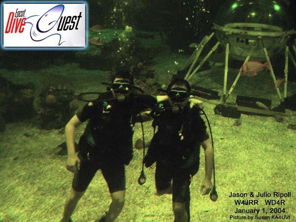 Epcot DiveQuest - Walt Disney World - Living Sea - Disney's Epcot Divequest