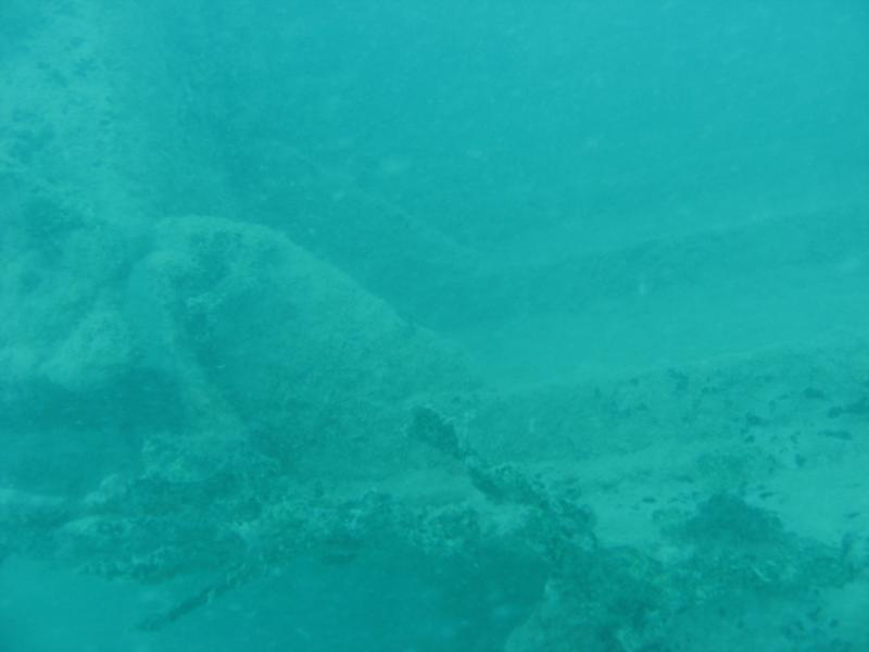 Little Bay - Sunken Catamaran